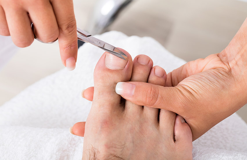 Foot clinic for healthy feet